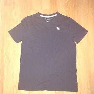 Abercrombie v neck t- shirt